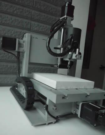 三轴cnc雕刻机制做角度感测器(无接触电位计)的零件